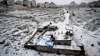 Storms hit Mideast
