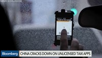 China cracks down on unlicensed taxi apps