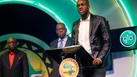 Yaya Toure is named African footballer of the year for fourth time in a row