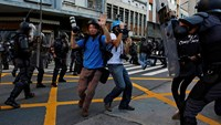 Protest against transportation fare hike in Sao Paulo turns violent