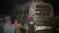 At least 40 dead in bus crash