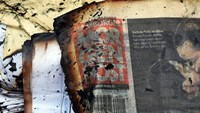 Arson attack on Hamburg newspaper as France mourns