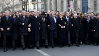 After attacks, world leaders join arm-in-arm in unprecedented Paris march
