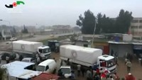 Aid arrives in Homs