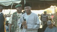 Nigeria's Jonathan makes surprise visit to insurgency-hit northeast