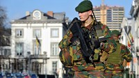 Troops guard Belgian streets against attack