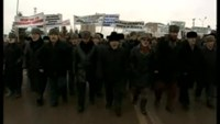 Up to 20,000 Russian Muslims rally against Charlie Hebdo images