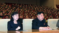 Kim Jong Un's wife, sister seen as uneasy allies