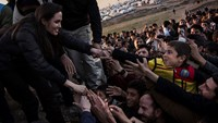 Angelina Jolie uses her starpower for good