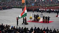 With pomp and splendor, India's Republic Day celebrations come to end
