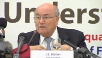 Blatter attacks media over African Cup of Nations semi final