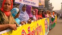 Hundreds form human chain to protest worsening Bangladesh violence