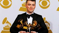 Sam Smith victorious at Grammy Awards