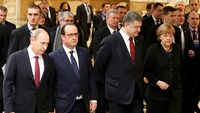 Leaders hold Ukraine peace talks as fighting surges
