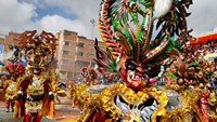 Jude Law enjoys Carnival festivities in Bolivia