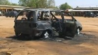 Female suicide bomber kills at least 10 at Nigerian bus station