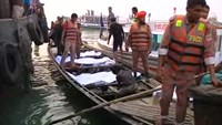 Bangladesh ferry capsizes after collision, at least 39 dead