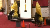 Rain or shine - the Oscars must go on