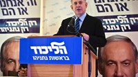 Israel's Prime Minister Benjamin Netanyahu speaks during a news conference in the West Bank Jewish settlement of Maale Adumim, near Jerusalem February 25, 2015. Netanyahu on Wednesday rebuffed criticism in Washington of his plans to speak in Congress, acc
