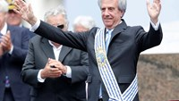 Tabare Vazquez sworn in as Uruguay's president, extends leftist rule