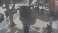 Security footage shows deadly police altercation in Los Angeles
