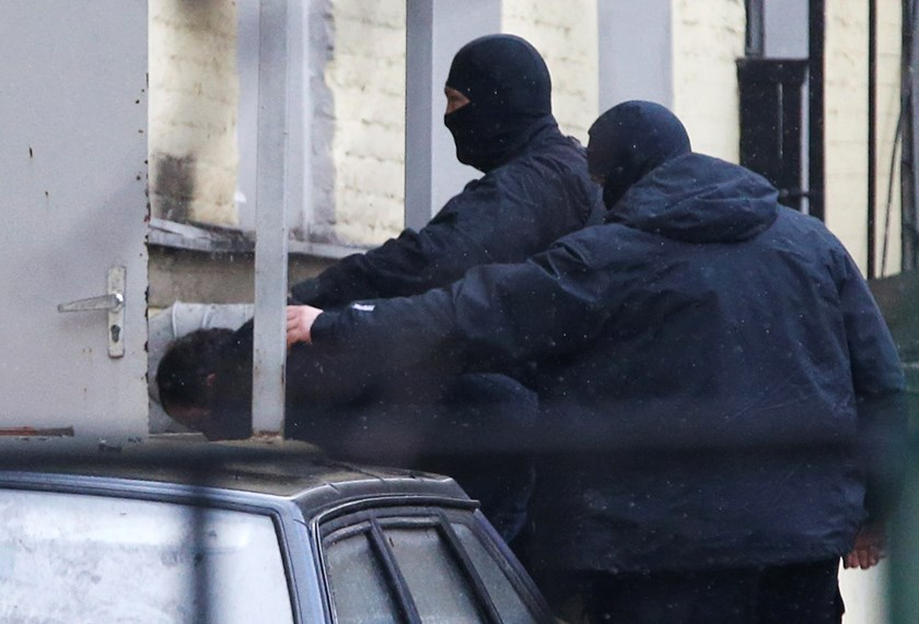 One of Nemtsov killing suspects served in police: report