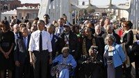'Our march is not yet ended' - Obama on Selma anniversary