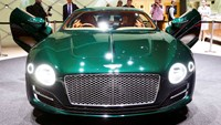 New Bentley EXP 10 concept car is seen during the second press day ahead of the 85th International Motor Show in Geneva March 4, 2015. REUTERS/Arnd Wiegmann