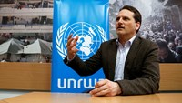 UNRWA chief visits Yarmouk refugee camp in Syria