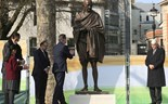 Mahatma Gandhi's statue unveiled at London Parliament's Square