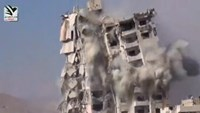 Syrian suburbs bombed, as residents mark four years of uprising
