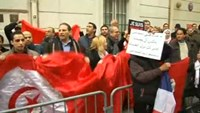 Demonstrators in Paris show support for Tunisia after museum attack