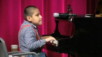 Bolivian child musical prodigy shines in Washington D.C.