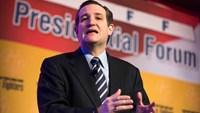 Senator Ted Cruz (R-TX) addresses the International Association of Firefighters delegates at IAFF Presidential Forum in Washington, in this March 10, 2015, file photo. Cruz will announce his plan to seek the Republican presidential nomination on Monday, a