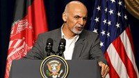 "Ghani says Aghanistan will put ""house in order."""