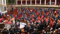 French parliament holds moment of silence for crash victims