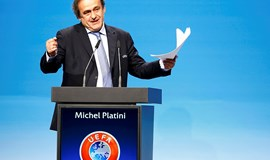 Michel Platini elected UEFA president unopposed
