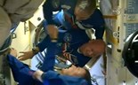 Crew starts one-year space mission