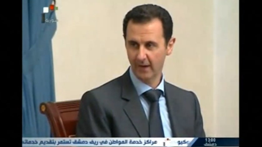 Syrian President Bashar al-Assad. File photo