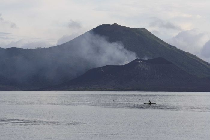 Mount Tavurvur is considered one of the most active volcanos in Papua New Guinea. File photo