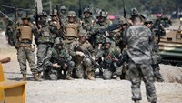 South Korea and U.S. hold joint military drill