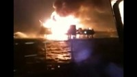 At least one dead in Pemex oil platform fire