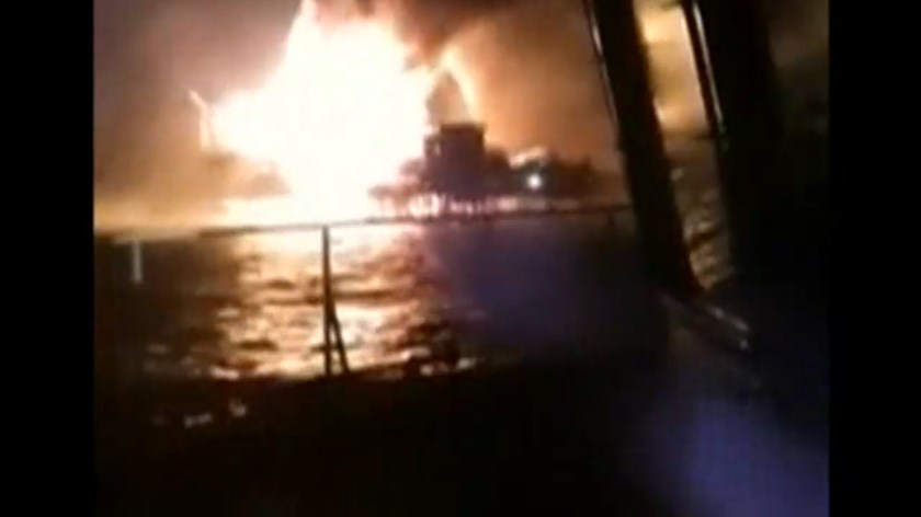 Pemex oil platform fire kills 4 in Gulf of Mexico, 302 evacuated