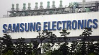 Samsung Electronic Co..'s semiconductor plant is pictured in Giheung, South Korea. Photo: Seokyong Lee/Bloomberg