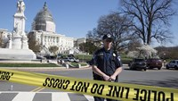 US Capitol locked down after shots fired, suspicious package found