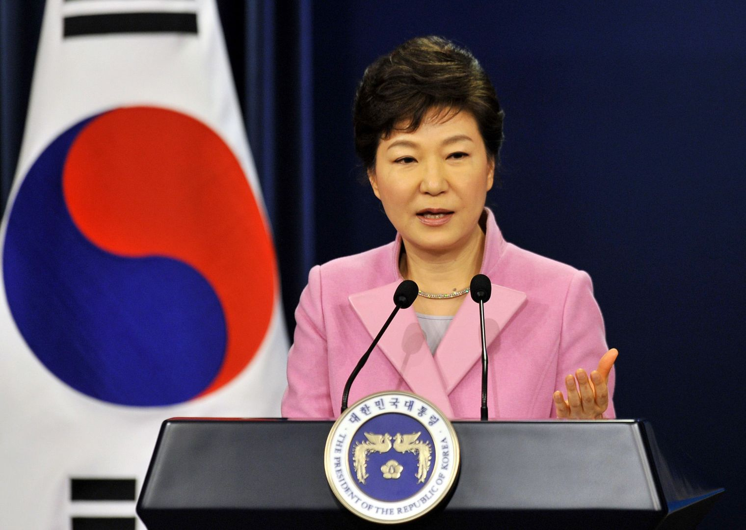 Image result for President Park Geun-hye