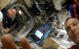 Selfies in space: NASA's GoPro out-of-this-world