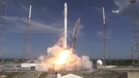 SpaceX launches supply mission for Space Station