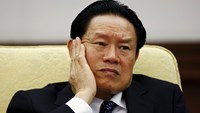 China's former Public Security Minister Zhou Yongkang. Photo: Reuters