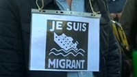 A show of support in Europe for migrants seeking better lives